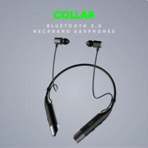 mivi neckband collar bluetooth earphone