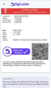 how to issue driving licence on digilocker